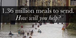 1.36 million meals to send. How Will You Help?