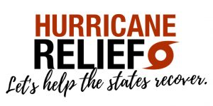 Hurricane Relief. Lets help the sates recover